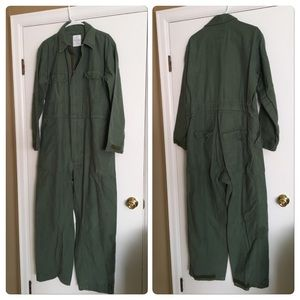 army green coveralls bibs overalls jumpsuit